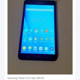 Samsung Tablet For Sale